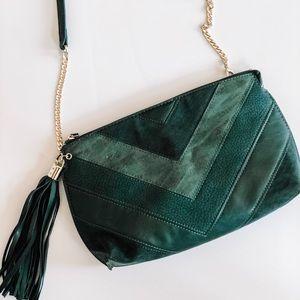 Handbags - Green Cross Body Purse